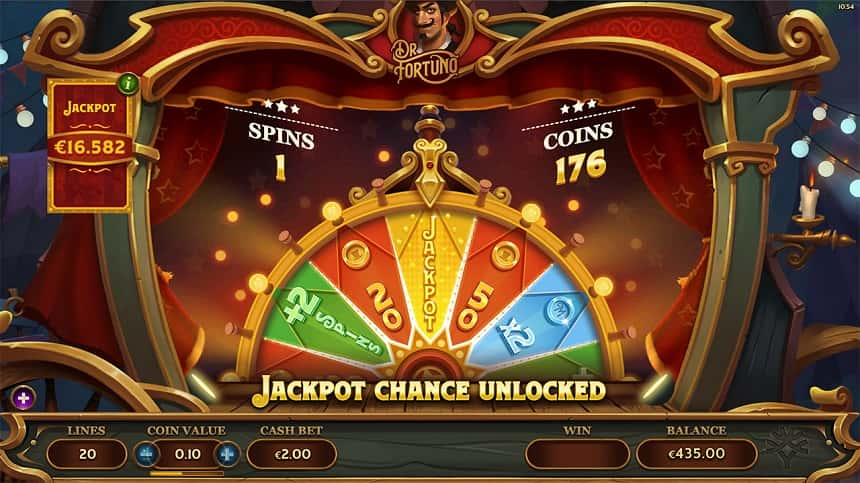 Dr Fortuno jackpot