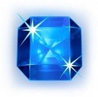 Starburst blå