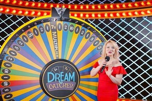 Dream catcher presenter