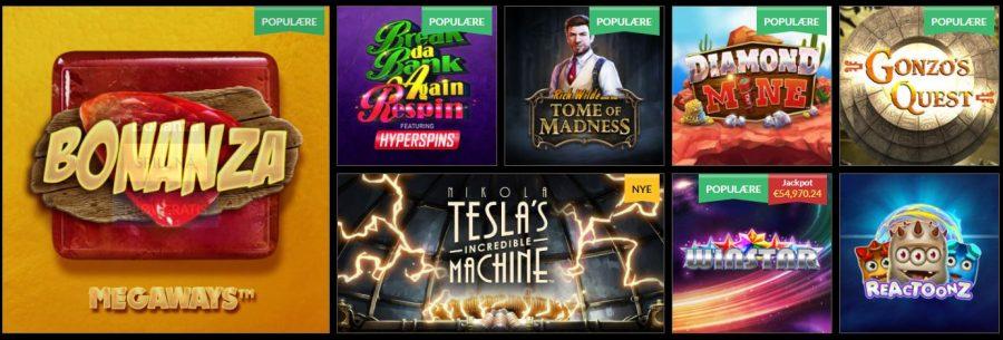 44Aces Casino Games