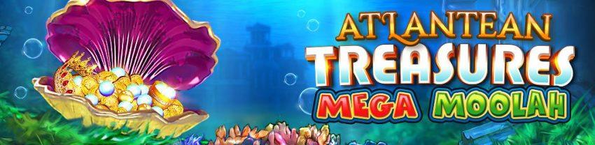 Atlantean Treasures Mega Moolah Banner