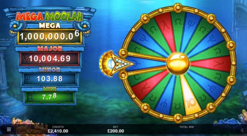 Atlantean Treasures Mega Moolah Jackpot