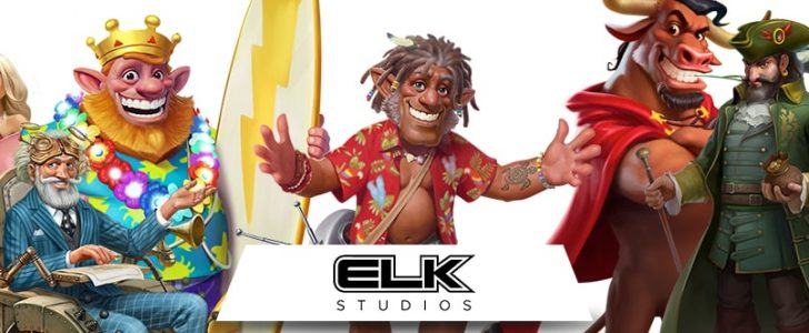 Elk Studios banner