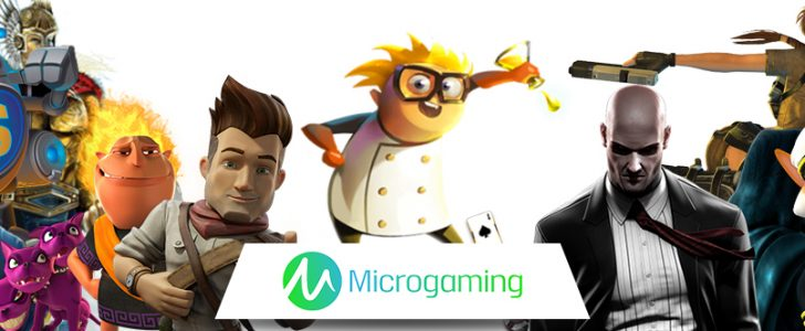 Spilleautomater fra Microgaming banner