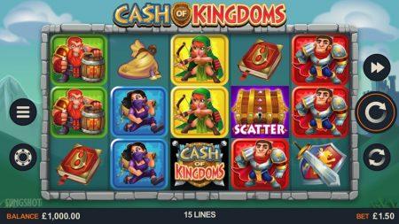 cash of kingdom spilleautomat