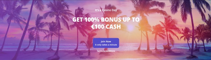 Casino Days velkomstbonus