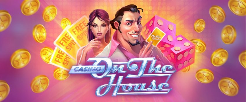 Casino on the House Banner