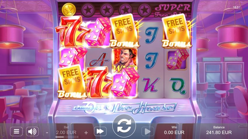 Casino on the House Freespins