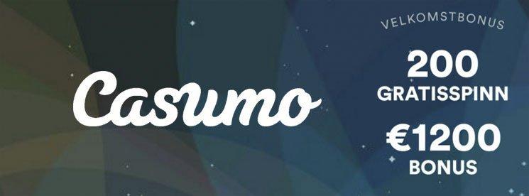 Casumo-velkomstbanner