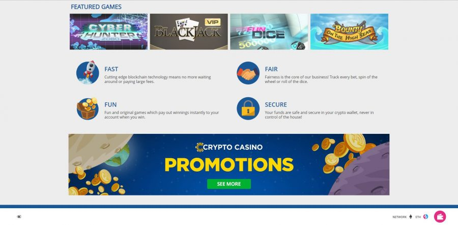 Crypto Casino Design