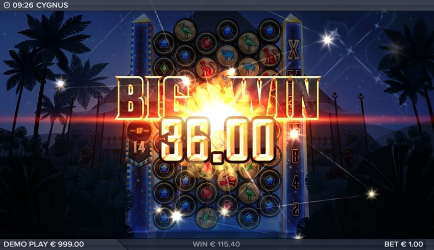 Cygnus Big Win Elk Studios