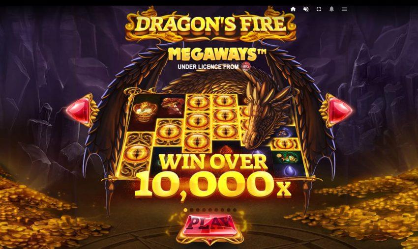 Dragons Fire Megaways Red Tiger