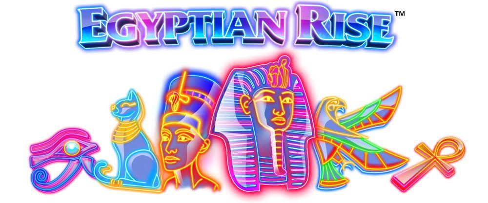 Egyptian Rise er en spilleautomat fra Side City Studios