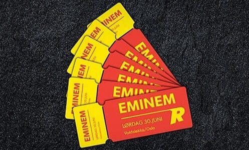 Vinn Eminem billetter med Rizk