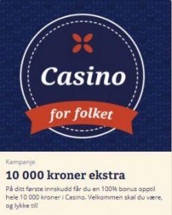 Folkeautomaten Casino Bonus