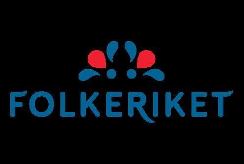Folkeriket casino logo