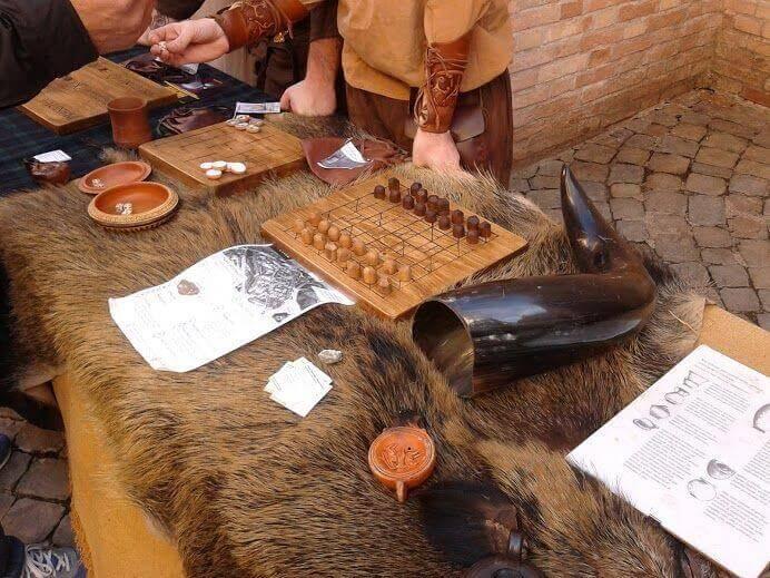 Gambling i Middelalderen