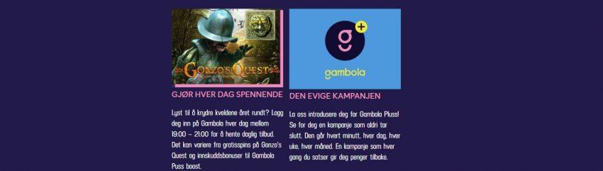 Gambola Casino Kampanjer