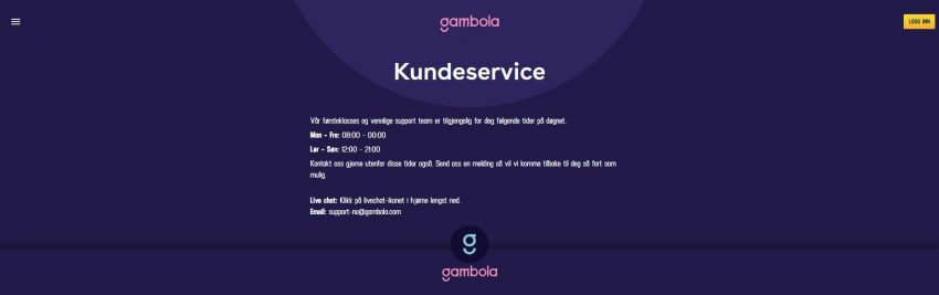 Gambola Support