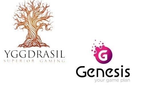 Yggdrasil Gaming nå tilgjengelig hos Genesis Global-casinoer