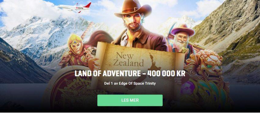 Guts Casino Land of Adventure Vinn Tur Til New Zealand