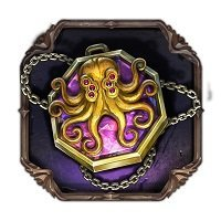 tome of madness amulett