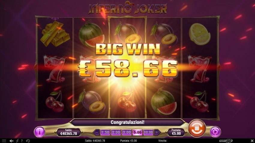 Inferno Joker Big Win