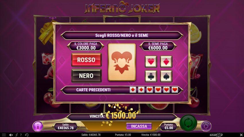 Inferno Joker Gamble