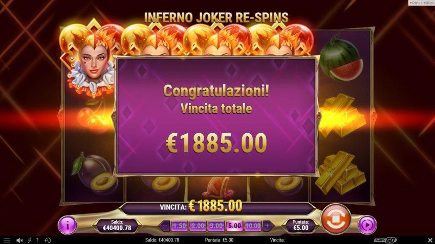 Inferno Joker Respins