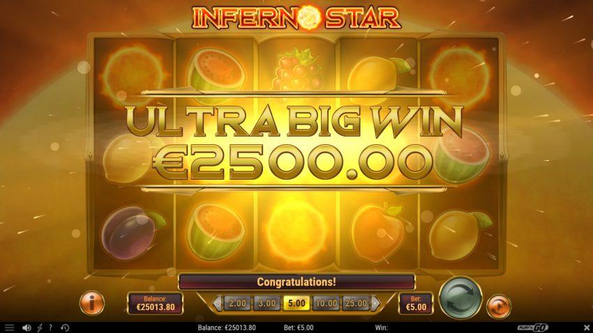 Inferno Star Ultra Big Win