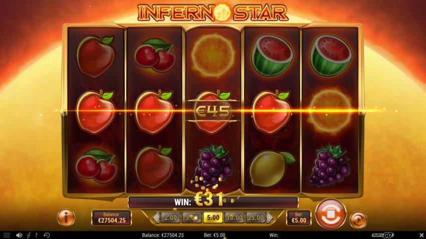 Inferno Star Play N Go Win