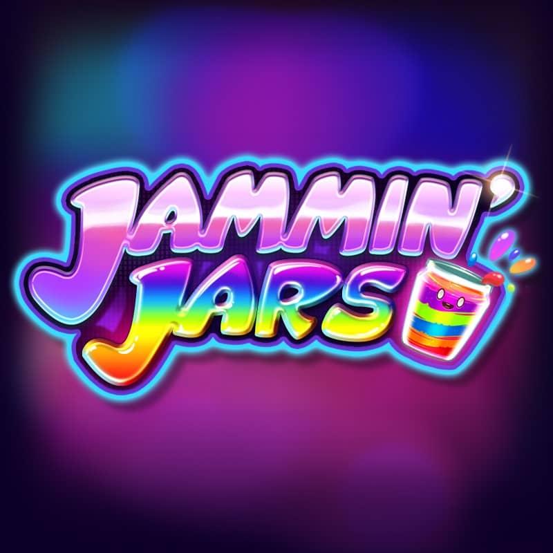 Jammin' Jars Logo med bakgrunn