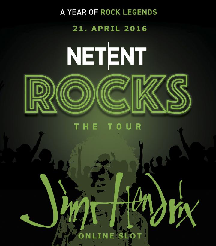 Jimi Hendrix promo NetEnt