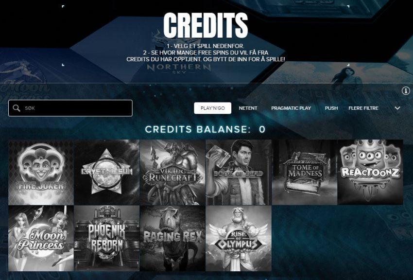 Kaboo Casino Credits