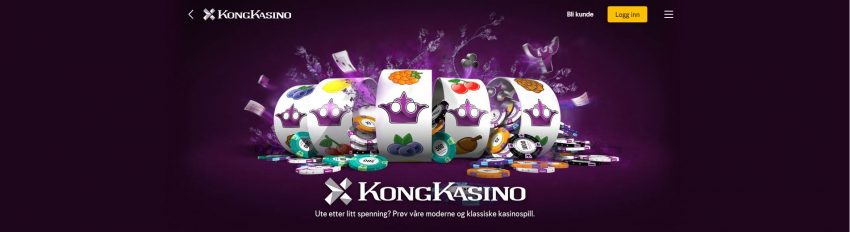 Kong Kasino Banner