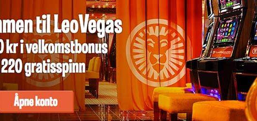 LeoVegas casino tilbud