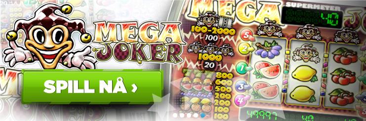 Mega Joker casino på nett