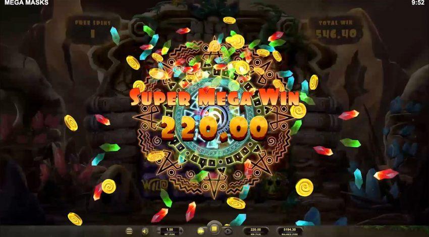 Mega Masks Relax Gaming Mega Win