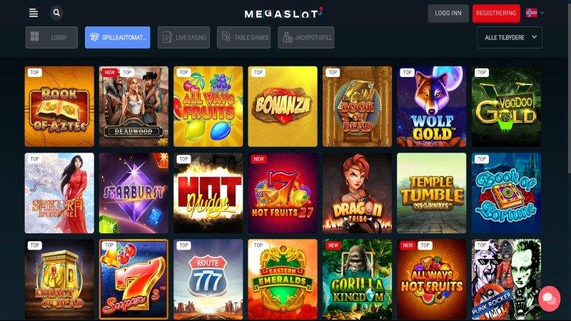 MegaSlot casino spill
