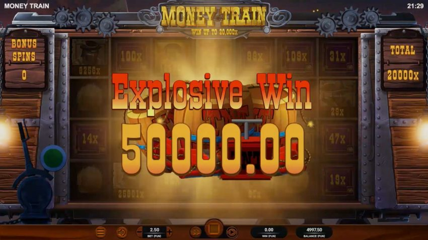 Money Train Big Win
