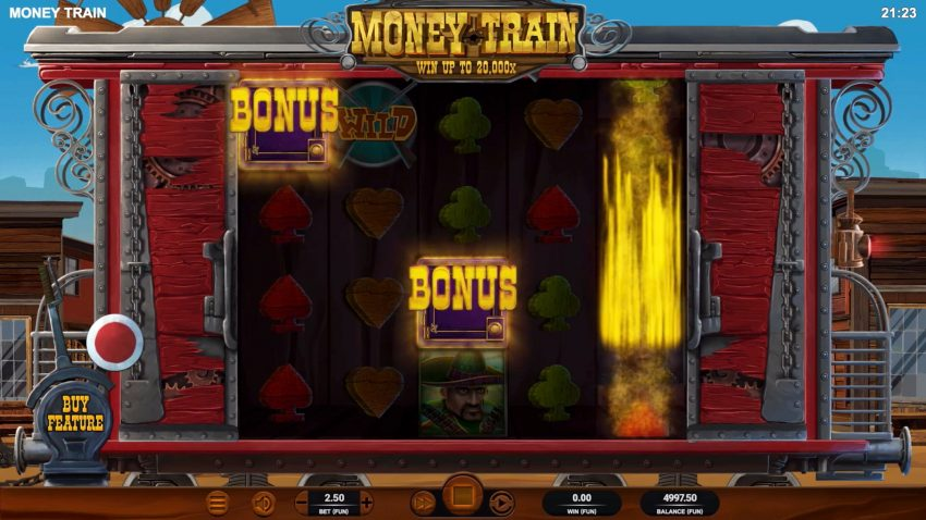 Money Train Bonus