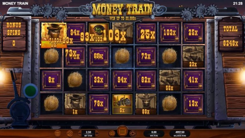 Money Train Feature Bonus