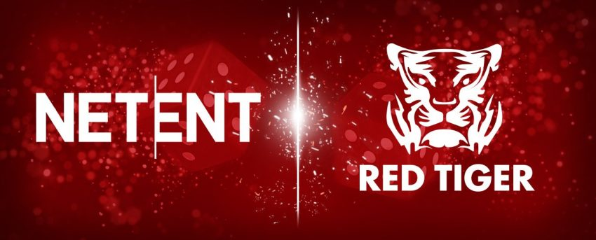 NetEnt Red Tiger Gaming Banner