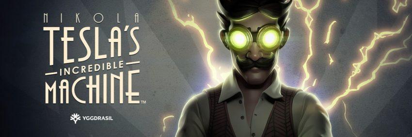 Nikola Teslas Incredible Machine Banner