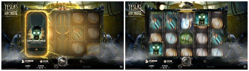 Nikola Teslas Incredible Machine Exploding Wilds Collage