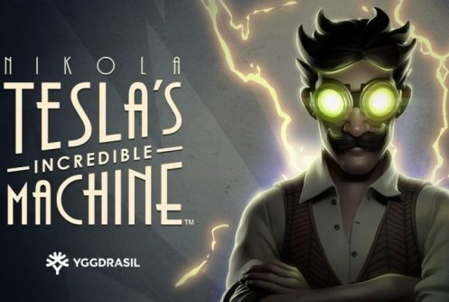 Nikola Teslas Incredible Machine Logo