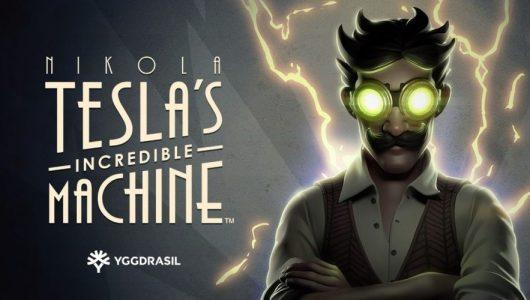 Nikola Teslas Incredible Machine Logo