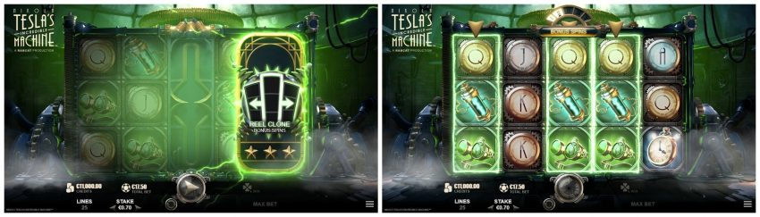 Nikola Teslas Incredible Machine Reel Clone
