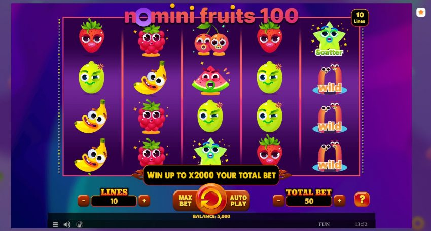 Nomini Fruits 1000