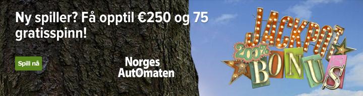 NorgesAutomaten Landingpage